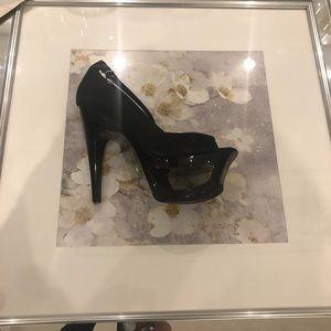 Stunning, unique, sexy black high heels